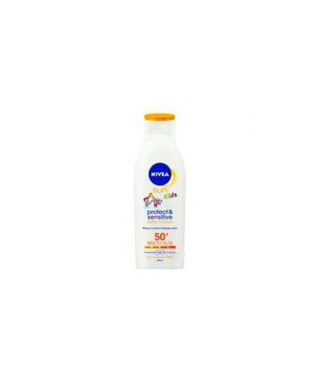 Nivea Solare Latte Kids Protect & Sensitive Fp50+ 200 Ml