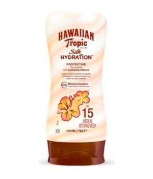 Hawaiian Tropic Silk hydration protective lotion spf 15 protezione solare 180 ml