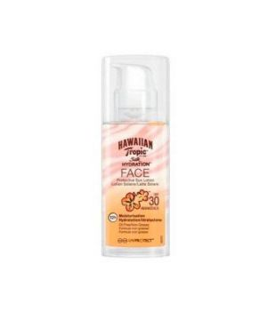 Hawaiian Tropic Silk Hydration Air Soft Face Sun Lotion SPF 30 50ml