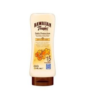 Hawaiian Tropic - Satin protection latte solare spf 15 180 ml