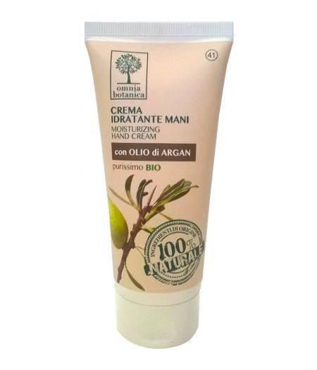Crema Idratante Mani con Olio di Argan purissimo Bio 75 ml