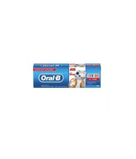 Oral-B Junior Star Wars Dentifricio al Fluoro 6+ Anni 75ml