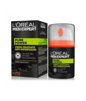 'L''Orèal Men Expert Pure Power Crema Viso 50 ml '