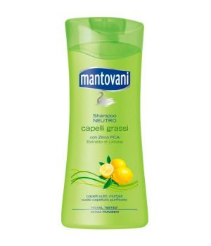 Shampoo capelli Grassi con Zinco PCA ed estratto di Limone 400ml