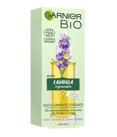 Garnier Bio Olio Viso Illuminante e Levigante alla Lavanda 30 ml