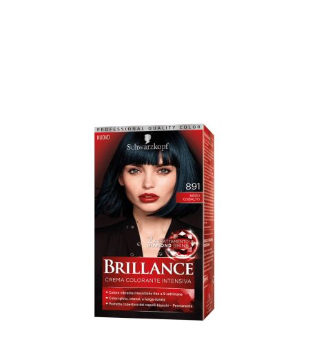 Brillance Crema Colorante Intensiva 891 Nero Cobalto