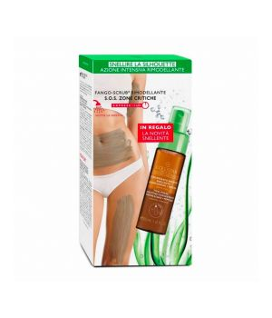 Fango-Scrub Rimodellante Sos Zone Critiche 350 ml - Crema Snellente Alta Definizione 100 ml