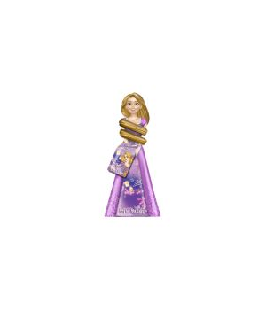 Princess Rapunzel 3D Bagnoschiuma 350 ml