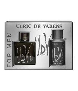 Ulric De Varens Black kit Regalo Eau de Parfum 100 ml + Deodorante antitraspirante 150ml
