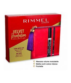 Rimmel Kit pochette Extra super Lash kit