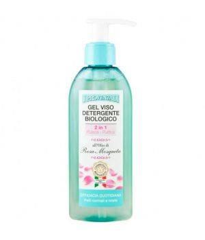 Gel Viso Detergente Biologico 2in1 all'Olio di Rosa Mosqueta 150 ml