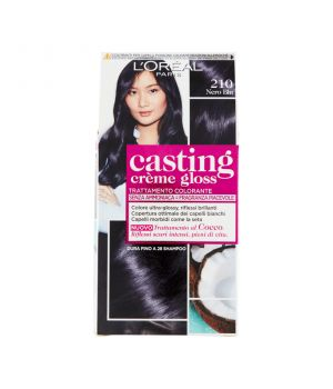 Tinta  Per Capelli Casting Creme Gloss Senza Ammoniaca N210 Nero Blu