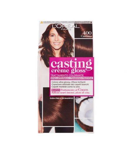 Tinta  Per Capelli Casting Creme Gloss Senza Ammoniaca N400 Castano