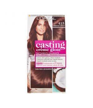 Tinta  Per Capelli Casting Creme Gloss Senza Ammoniaca N415 Maron Glace'