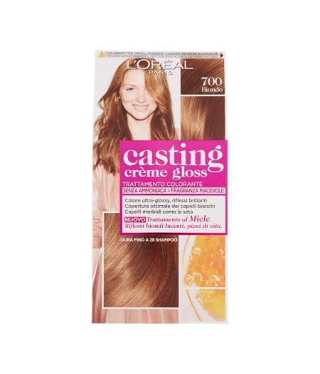 Tinta  Per Capelli Casting Creme Gloss Senza Ammoniaca N700 Biondo