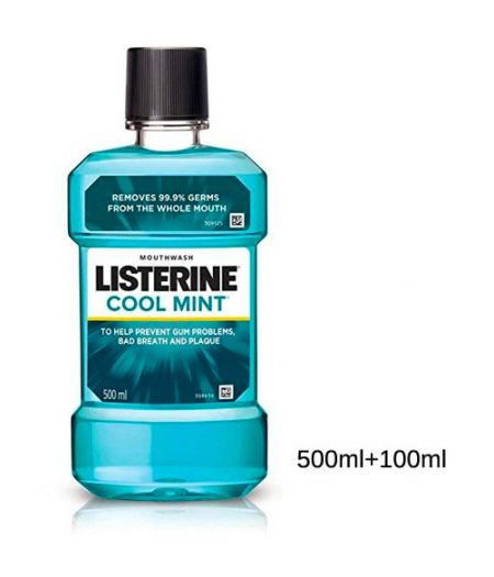 Listerine Coolmint Colluttorio 600 ml
