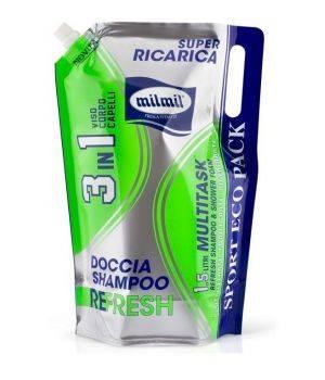 Mil Mil Doccia Shampoo 3 in 1 - 1,5 lt