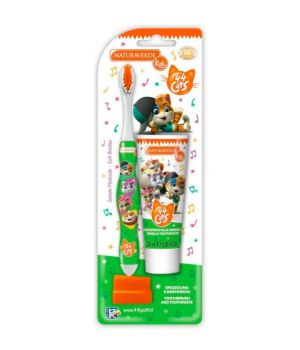 44 Cats spazzolino e dentifricio