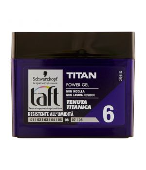 Taft Power Gel Titan 6 250 ml