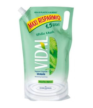 Sapone liquido Muschio bianco ecoricarica 1,5 lt.