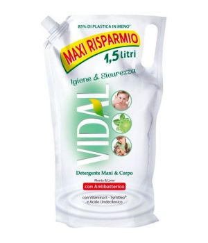 Sapone liquido Antibatterico 1,5 lt.