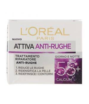 Attiva Antirughe 55+ - Crema Viso Giorno e Notte 50 ml