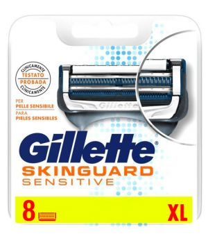 Skinguard Sensitive XL – pelli sensibili 8 lame ricambio