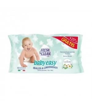 Baby Easy salviettine 60 pz