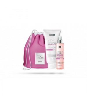 Pupa Kit Home Spa Gel + Acqua Profumata + Bag