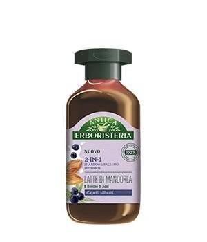 Shampoo 2in1 Latte di Mandorla 225 Ml
