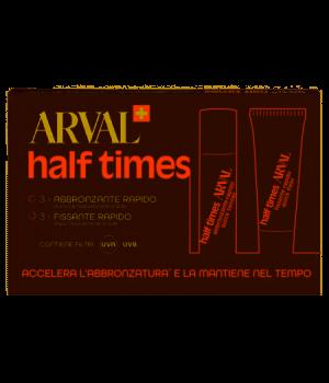 Arval Half Times 3 fl. 10 ml + 3 tb. 10 ml Autoabbronzante 10ml