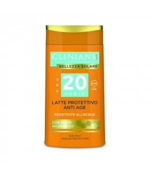 Clinians Solare Latte Protettivo Anti Age SPF20 water resist 200 ml