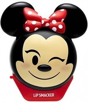 Lip Smacker Balsamo A Labbra Emoji Minnie Disney Profumo Fragola/Limonata Protegge/Idrata Le Labbra