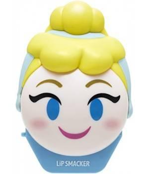 Lip Smacker Balsamo A Labbra Emoji Cenerentola Disney Profumo Mirtillo Protegge/Idrata Le Labbra