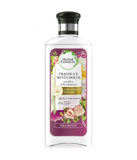 Herbal Essence Shampoo Fragola e Menta 250 ml