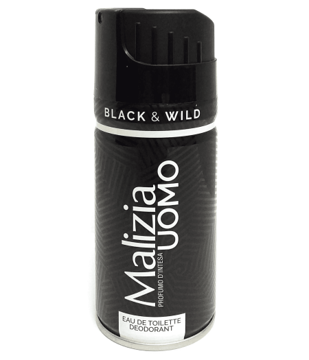 Uomo Black & Wild Eau de Toilette Deodorant 150 ml