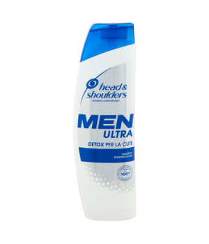 Men Ultra Detox Shampoo Antiforfora 225 ml