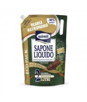 Sapone Liquido Ricarica Busta Pino & Ginepro 2 Lt