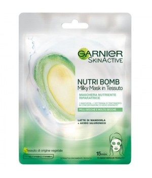 Skin Active Maschera Viso Al Latte Di Mandorla 28 Gr