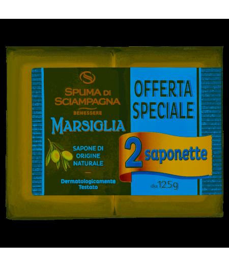 Sapone Marsiglia 125 Gr x 2Pz.