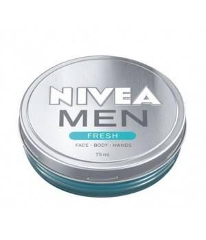 Men Fresh Crema Idratante Viso Mani Corpo 75 ml