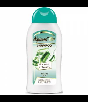 Shampoo Aloe Vera E Cheratina Capelli Secchi E Danneggiati 300 Ml