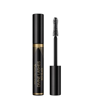 Max Factor Mascara Volumizzante Divine Lashes con Applicatore Ultra Morbido, 001 Black