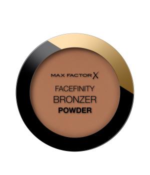Max Factor Facefinity Bronzer Powder, Terra Abbronzante dal Finish Satinato a Lunga Durata