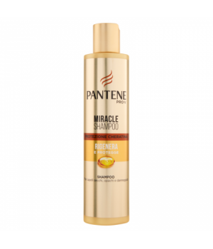 Pantene Pro-V Miracle Shampoo Protezione Cheratina Rigenera e Protegge 250 ml