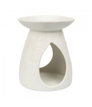 Yankee Candle - Bruciatore in ceramica bianco floreale
