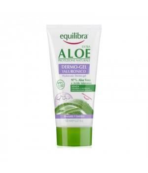 Aloe Dermo Gel Ialuronico Idratante Lenitivo Tubo 150 Ml