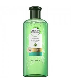 Shampoo Puro Aloe + Canapa 225ml.Ripara e Liscia