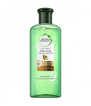 Shampoo Puro Aloe + Avocado 225ml.Nutre ed Idrata