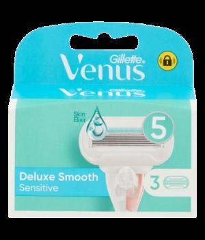 Venus Deluxe Smooth Sensitive Lame Per Rasoio Da Donna 3 Ricariche
